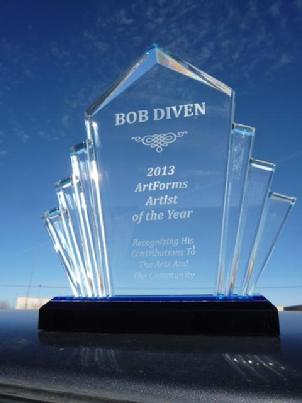 artforms, artist of the year, art, community, award, bob diven, las cruces, new mexico